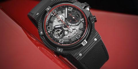 Hublot Classic Fusion Ferrari GT: meccanica rampante