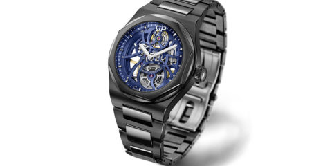 "Girard-Perregaux Laureato Skeleton ""Earth to Sky"" Edition"