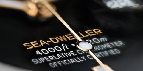 Rolex Sea-Dweller in Rolesor giallo