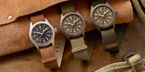Hamilton Khaki Field Mechanical: militare dentro