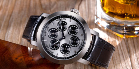 Aerowatch Renaissance 7 Time Zones - VIDEO